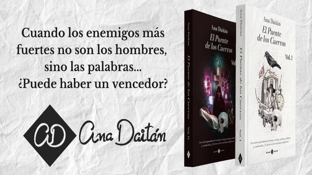 Banner de El Puente de los Cuervos de Ana Daitán con cita