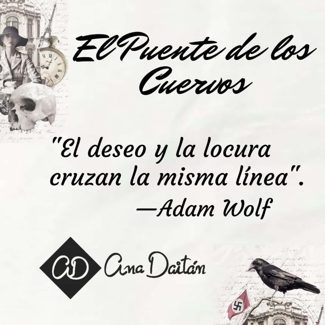 Foto de cita de El Puente de los Cuervos de Ana Daitán